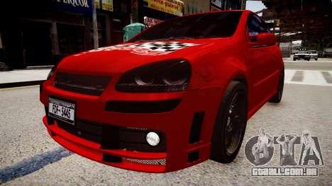 Volkswagen Golf V GTI para GTA 4