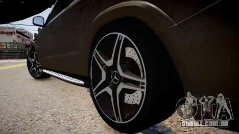 Mercedes-Benz GL63 AMG para GTA 4