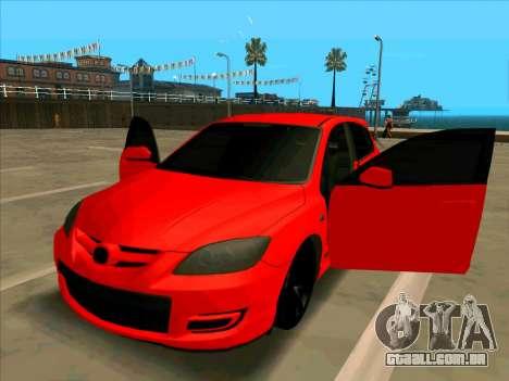 Mazda 3 Red para GTA San Andreas