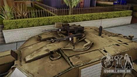Challenger 2 Desert para GTA San Andreas