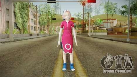 NUNS4 - Sakura Genin para GTA San Andreas