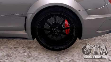 Mercedes-Benz C63 AMG 2012 v1.0 para GTA 4