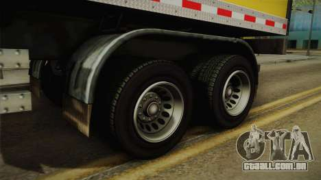 GTA 5 Refrigerated Trailer IVF para GTA San Andreas