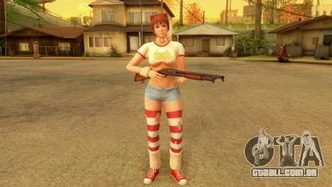 Dead Or Alive 5 LR Kasumi Halloween 2016 Edited para GTA San Andreas