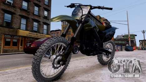 Suzuki RMZ para GTA 4