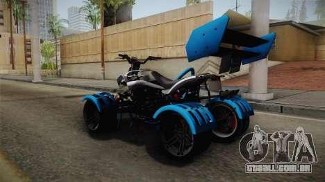 GTA 5 Nagasaki Street Blazer v2 para GTA San Andreas