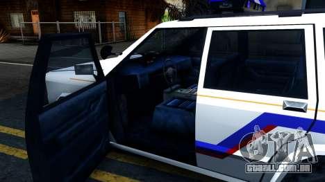 Landstalker Hometown Police Department 1994 para GTA San Andreas