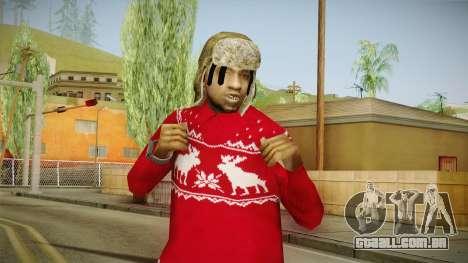 Winter Fam2 para GTA San Andreas