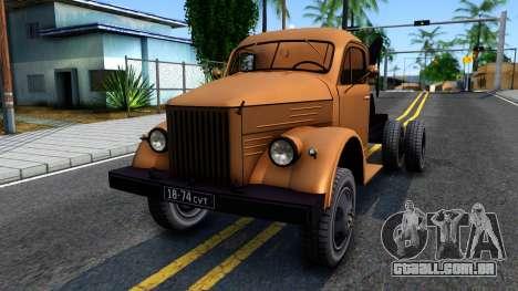 GAZ-51 caminhão de Reboque para GTA San Andreas