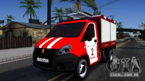 Gazela Fogo para GTA San Andreas