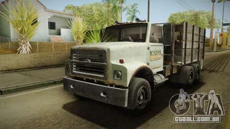 GTA 5 Vapid Scrap Truck v2 para GTA San Andreas