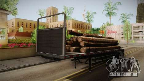 GTA 5 Log Trailer v2 IVF para GTA San Andreas vista direita