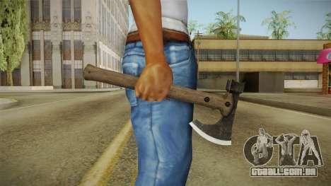 Bikers DLC Battle Axe v1 para GTA San Andreas