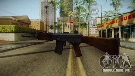 INSAS Rifle para GTA San Andreas