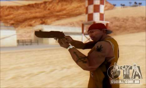 GTA 5 Vom Feuer Compact Grenade Launcher para GTA San Andreas