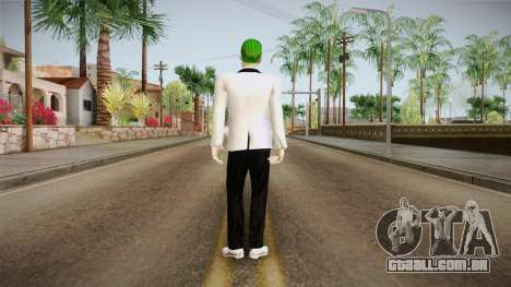 Joker White Suit 2.0 para GTA San Andreas