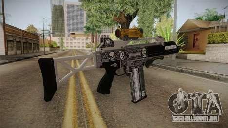 GTA 5 Special Carbine P v2 para GTA San Andreas