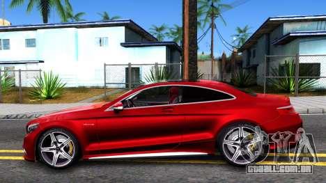 Mercedes-Benz S63 AMG Coupe para GTA San Andreas