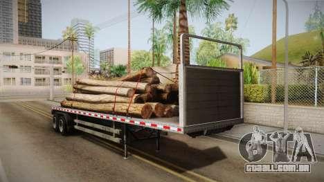GTA 5 Log Trailer v2 IVF para GTA San Andreas