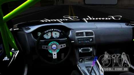 Toyota Chaser Seulbi Lee Itasha Drift para GTA San Andreas