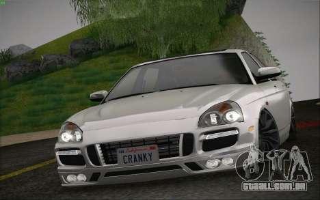 Lada Priora Porsche para GTA San Andreas