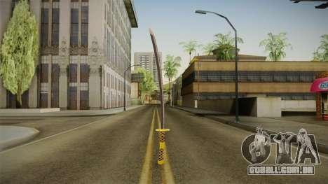 Samurai Sword para GTA San Andreas