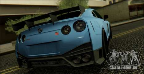 Nissan GTR 2017 para GTA San Andreas