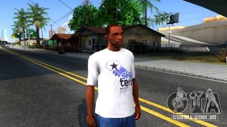 Pro Skater T-Shirt para GTA San Andreas