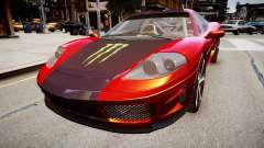 Modified Turismo para GTA 4
