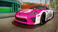 Lexus LFA Ram The Red of ReZero para GTA San Andreas