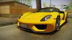 Porsche 918 Spyder 2013 EU Plate