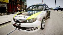 Subaru Impreza WRX STi K.Block
