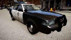 O carro de polícia do GTA V