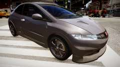 Honda Civic Type R Mugen '2010 v1.5 para GTA 4