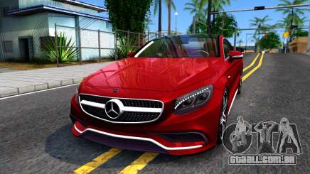 Mercedes-Benz S63 AMG Coupe para GTA San Andreas