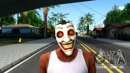 Joker Clan Mask From Injustice Gods Among Us para GTA San Andreas