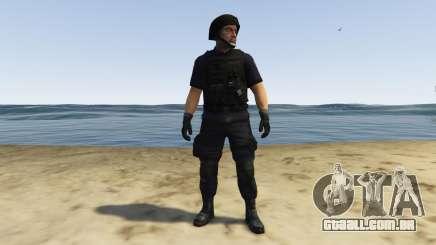 LAPD SWAT Ped para GTA 5