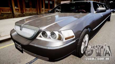 Lincoln Town Car Limousine 2010 para GTA 4