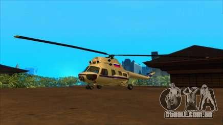 O helicóptero da polícia Federação para GTA San Andreas