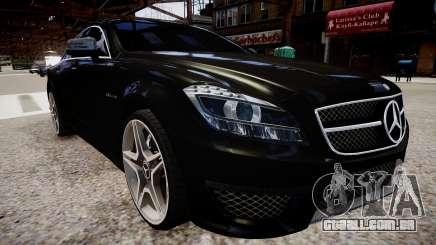 Mercedes-Benz CLS 6.3 AMG'12 para GTA 4