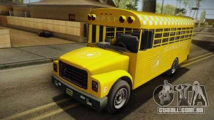 GTA V Vapid Police Prison Bus para GTA San Andreas