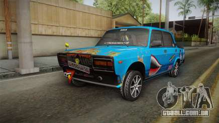 2107 De Combate Clássico para GTA San Andreas