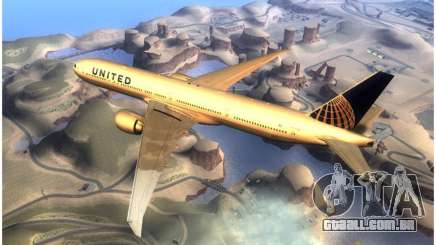 United Airlines Boeing 777-322ER - N58031 para GTA San Andreas