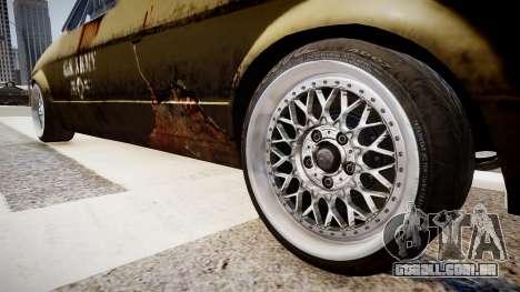 Volkswagen Caddy US Army para GTA 4 vista de volta