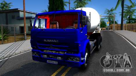 KamAZ 65115 Mixer Caminhão para GTA San Andreas