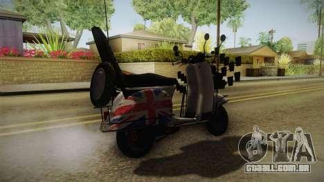 GTA 5 Pegassi Faggio Cool Tuning v4 para GTA San Andreas
