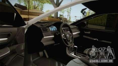 Toyota Camry Manila Police para GTA San Andreas