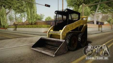 Demolition Company - Skid Steer Loader para GTA San Andreas vista direita