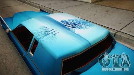Novo trabalho de pintura para Remington para GTA San Andreas