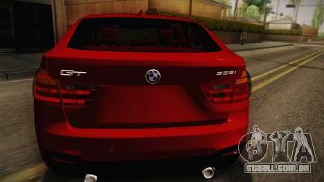 BMW 335i F34 Gran Turismo para GTA San Andreas